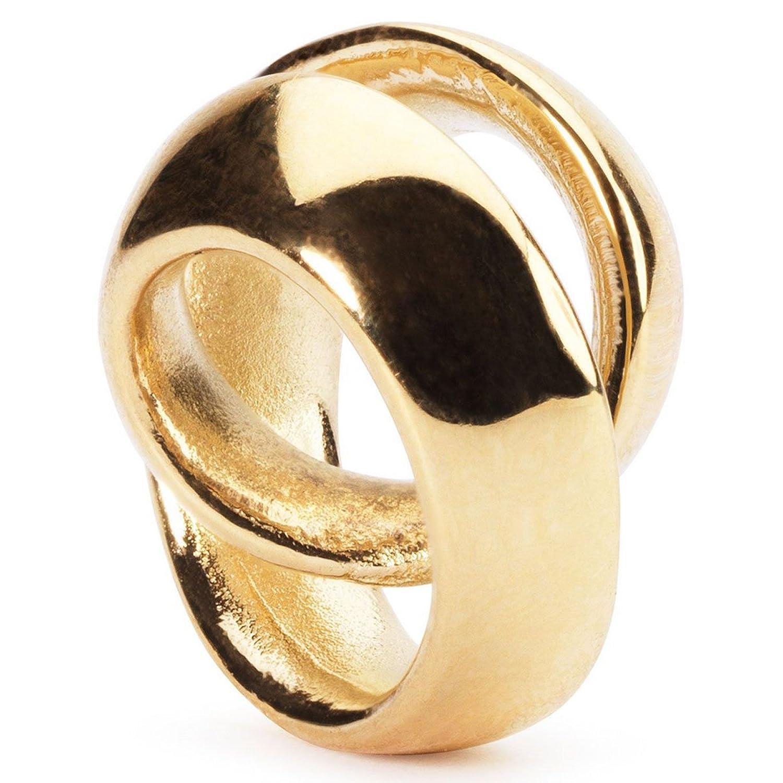 Trollbeads Damen-Bead Unendlich 750 Gelbgold – 21827 günstig bestellen