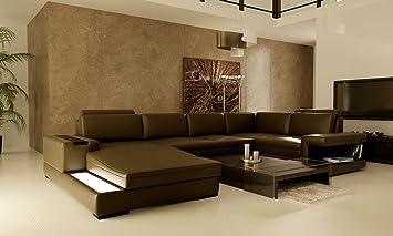 Canap En Cuir Cuir Garniture De Meuble Milano Cuisine