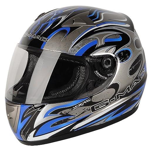 G-MAC 108137L08 Casque Moto Scirocco Noir
