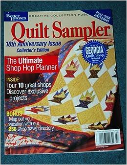 Better Homes And Gardens Quilt Sampler Spring Summer 2004