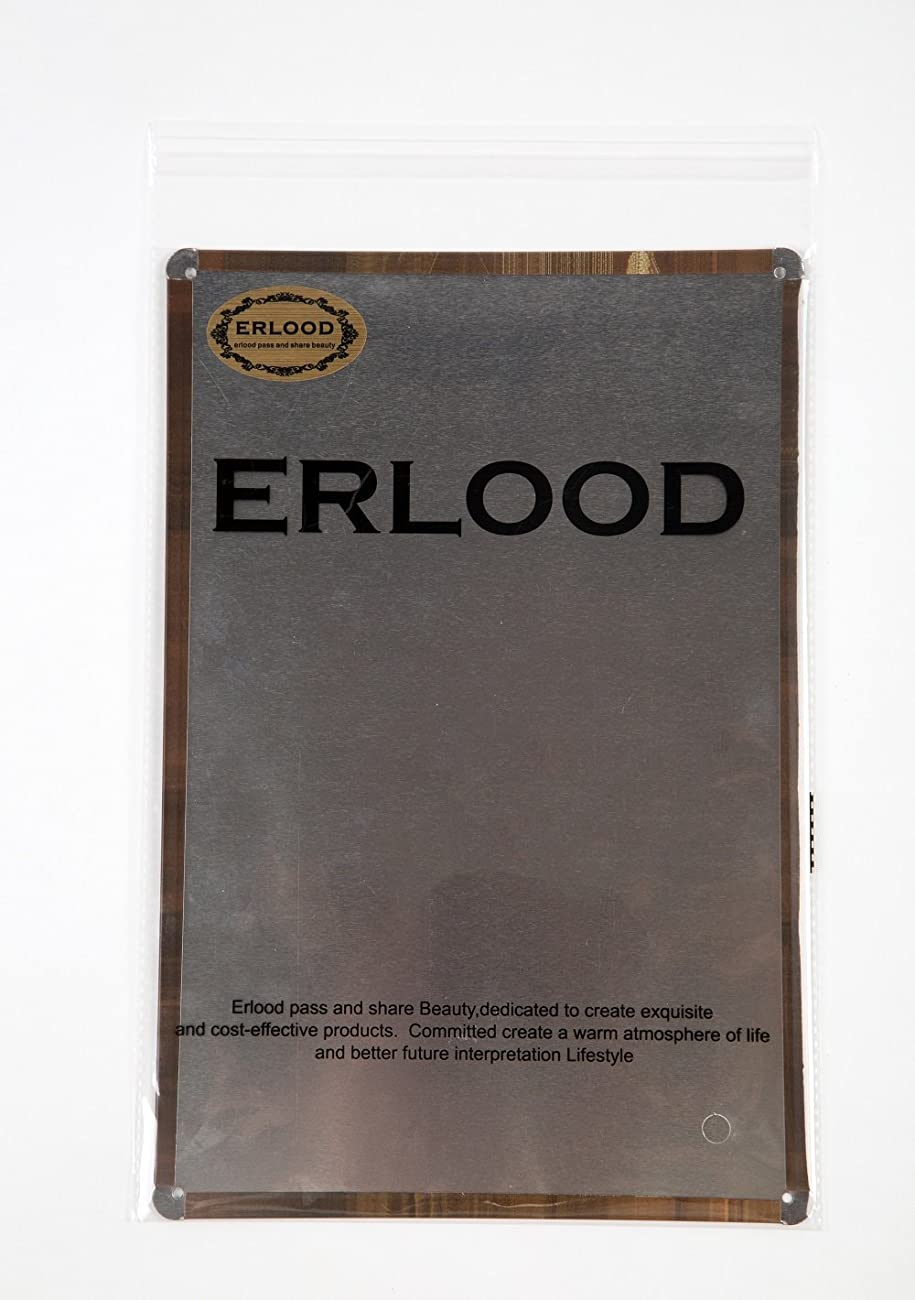 ERLOOD Drink Good Beer with Good Friends Vintage Tin Sign Wall Decor 20 X 30 Cm 1