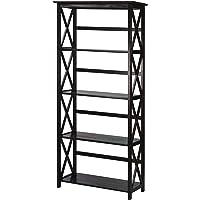 Casual Home 324-53 Montego 5-Tier Bookcase (Espresso)