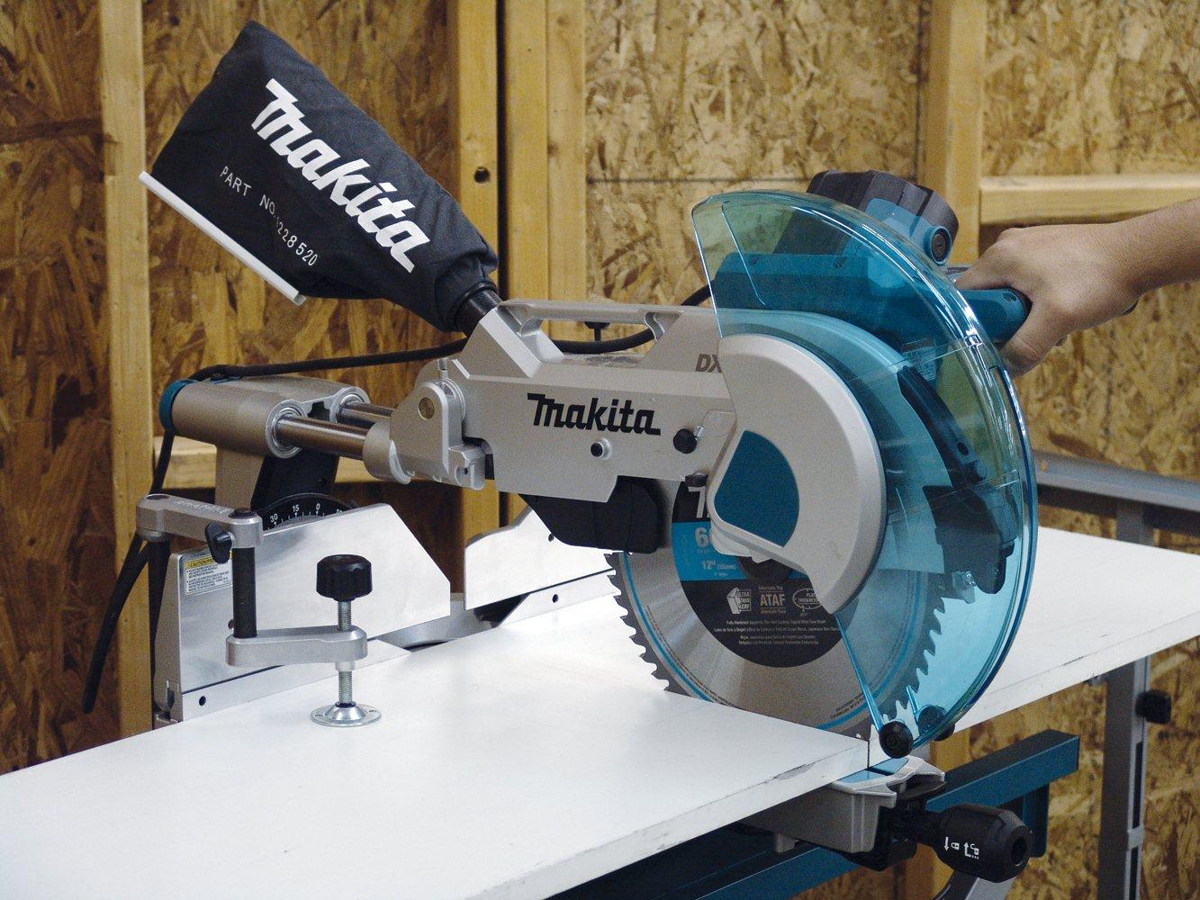 makita ls1216l 12 inch dual slide compound miter saw with. Black Bedroom Furniture Sets. Home Design Ideas