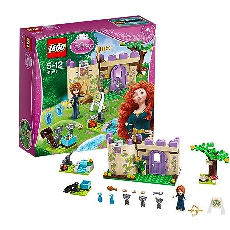 Lego Disney Princesse - 41051 - Jeu De Construction - Le Tournoi De Tir À L'arc De Mérida