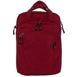 STM Stash Shoulder Bag For iPad - Berry