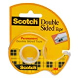 Scotch Brand Double Sided Tape, Standard Width, Long-Lasting, Trusted Favorite, Engineered for Bonding, 3/4 x 300 Inches, Boxed, 1 Roll (237)