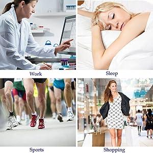 PAAZA Bunion Corrector & Bunion Relief Kit - Cure Pain in Big Toe Joint, Tailors Bunion, Hallux Valgus, Hammer Toe, Toe Separators Spacers Straighteners Splint Aid Surgery Treatment (Tamaño: 8 pcs)