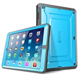 iPad Air Case, SUPCASE Heavy Duty Beetle Defense Series Full-Body Rugged Hybrid Protective Case Cover with Built-in Screen Protector for Apple iPad Air (Blue/Black, not fit iPad Air 2) (Color: Blue/Black, Tamaño: iPad Air)