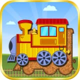 Trains, Planes & Sea Vehicles - Puzzle for Toddlers
