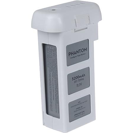 DJI DJIP2BAT Batterie Rechargeable 5,200 mAh Compatible avec DJI Phantom 2, Phantom 2 Vision et Phantom 2 Vision+ UAV   Drône Quadricoptère radiocommandé - Blanc