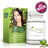 Vagifirm Vaginal Tightening Pills - All Natural Herbal Supplement for Women's Sexual Enhancement, Health, Lubrication and Libido. (1 Month Bottle Supply) (Tamaño: 1 Bottle)