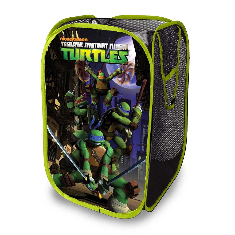 Teenage mutant ninja turtles decor archives groovy kids gear - Superhero laundry hamper ...