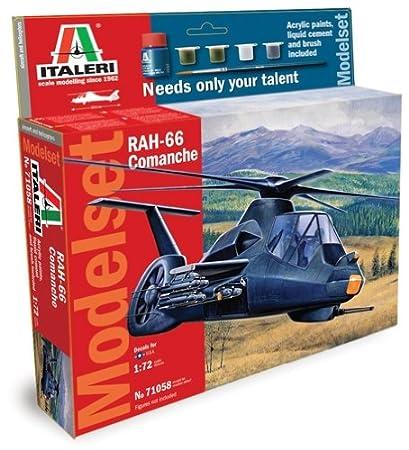 Italeri - I71058 - Maquette - Aviation - Set Rah-66 Comanche