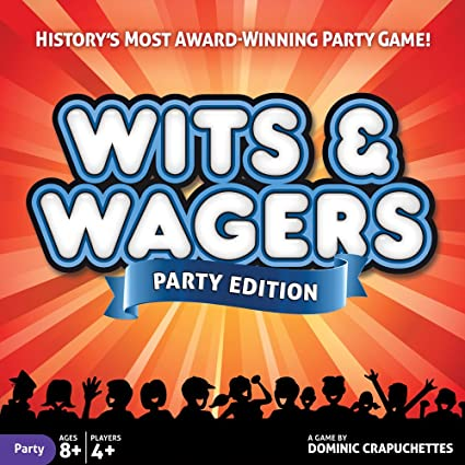 Amazon.com: Wits and Wagers Party: Toys & Games