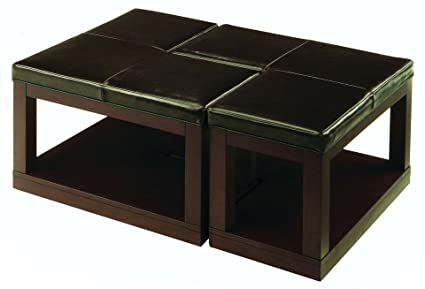 Pieces L-Shaped Coffee Table Ottoman MPN: 3250-30