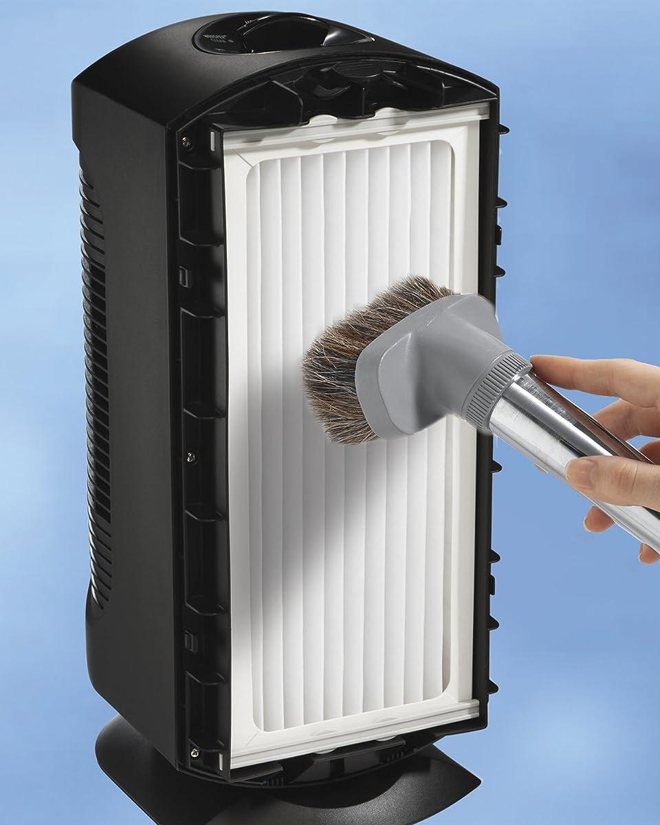 Hamilton Beach TrueAir Allergen-Reducing Ultra Quiet Air Cleaner Purifier with Permanent HEPA Filter (04386A)