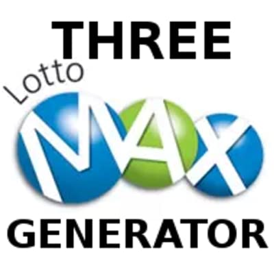 Canada Lotto Max Three Pick Generators, Interactive, Quickpick, Favorite Numbers