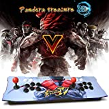CelebFuny Arcade Game Console 1080P 3D & 2D Arcade Game 2200 in 1 Pandora Box 3D 2 Players Arcade Machine King of Fighters Support Expand 6000+ Games for PC / Laptop / TV / PS4 (SF) (SF) (Color: Sf)