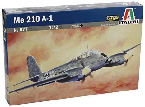 Italeri - I077 - Maquette - Aviation - Messerschmitt Me 210a-1