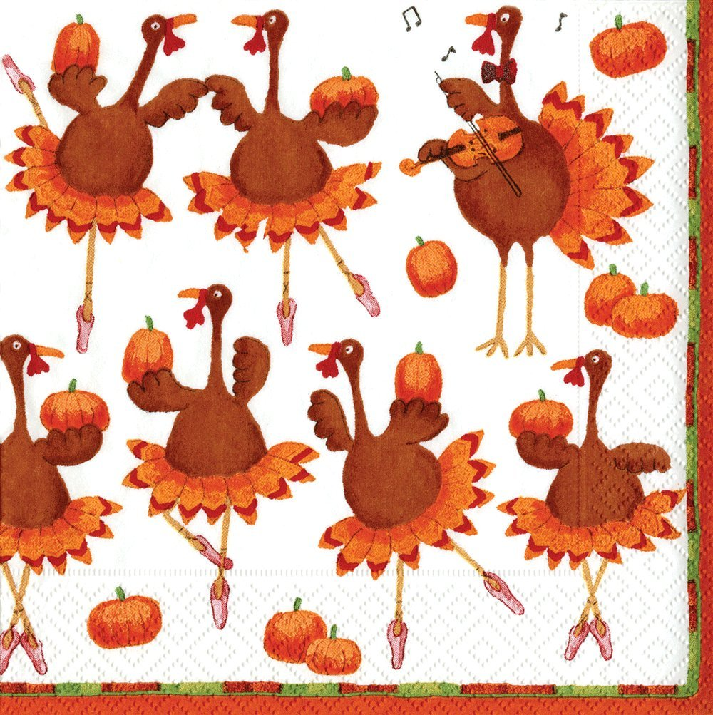 Thanksgiving paper napkins thanksgiving wikii for How to fold napkins into turkeys