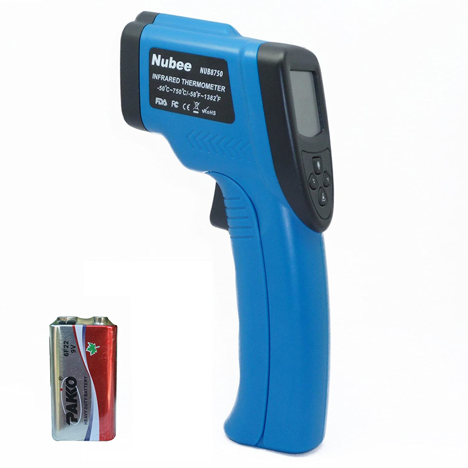 non contact infrared thermometer how to use