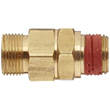 Control Devices Brass Load Genie Unloading Check Valve, Tube Comp. x NPT Male