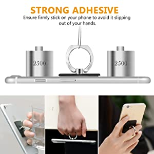 360 Degree Rotation Socket Cell Phone Pop Grip Stand Works for All Smartphone and Tablets Coca Cola Sipping On Coke