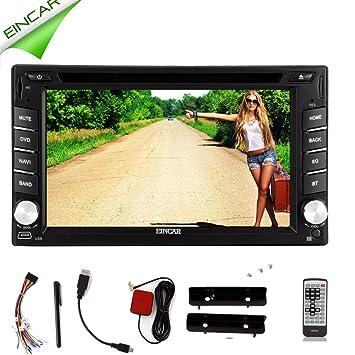 eincar voiture GPS écran tactile capacitif Android système stéréo Lecteur DVD de voiture pc 2DIN stéréo Radio WiFi Bluetooth stéréo Radio Navigation GPS Auto