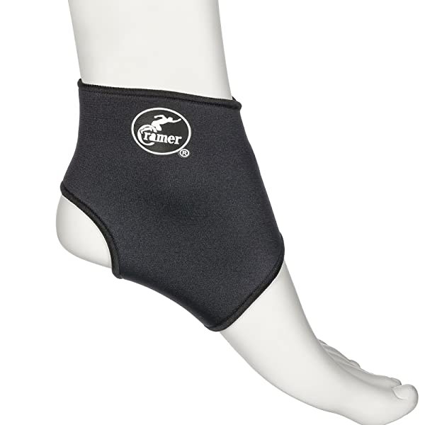 Cramer Neoprene Ankle Compression Sleeve, Best Ankle Support for Runners, Ankle Sprain, & Walking, Gentle Compression & Recovery Sleeves for Foot Pain