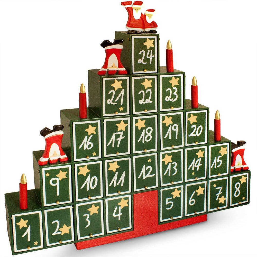 Calendrier de l 39 avent maison en bois cultura images - Calendrier de l avent en carton ...