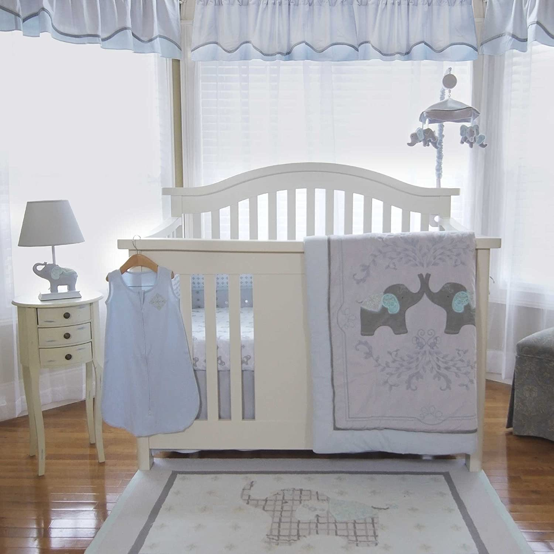 Elephant Crib Sheets : Elephant crib bedding totally kids bedrooms