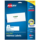 Avery Address Labels with Sure Feed for Inkjet Printers, 1-1/3