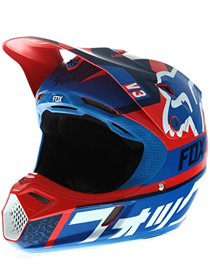 FOX 2016 Motocross / MTB MX casque Enfants V3DIVISION- rouge