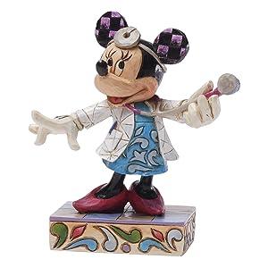Enesco Disney Tradition - Figurilla de s Minnie la doctora, de resina, altura de 11 cm, multicolor   Más información y revisión del cliente