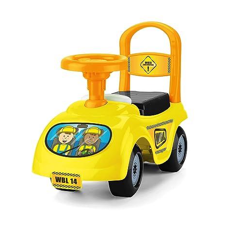 Bentley Kids - Porteur camion - jouet - enfant - jaune