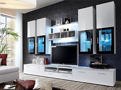 TV Stand 57 Inch Modern Simple Stylish Entertainment Center Media Console Storage Cabinet Living Room Unit Furniture Bedroom Organizer Shelf