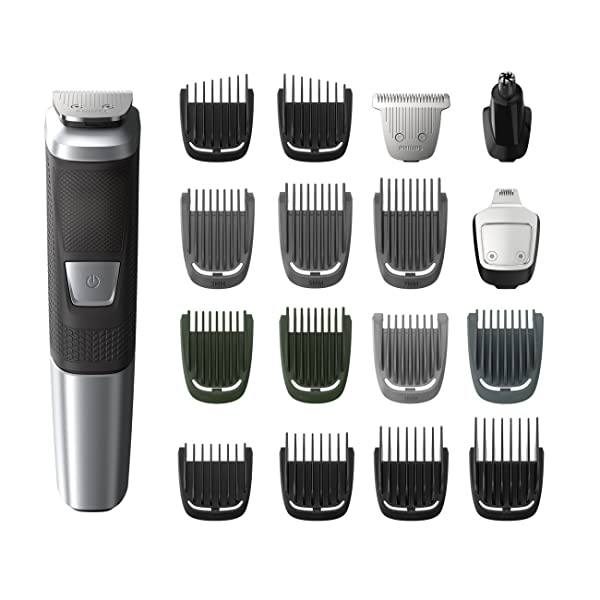 Philips Norelco Multi Groomer MG5750/49 - 18 piece, beard, body, face, nose, and ear hair trimmer and clipper (Color: kkk)