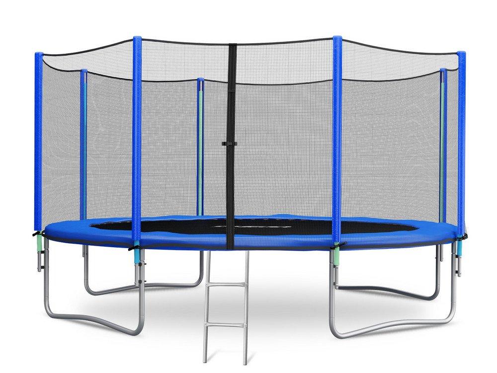 Trampolin 366 cm 12 ft mit Sicherheitsnetz Außennetz und Einstiegsleiter Neo-Sport Gartentrampolin jetzt bestellen