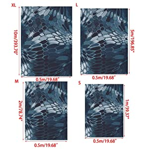 Hayward Hydrographic Film, Water Transfer Printing, Hydro Dipping Film, for Home Automotive Guitar Decor YS079 (Color: As the Picture Shown, Tamaño: Medium)