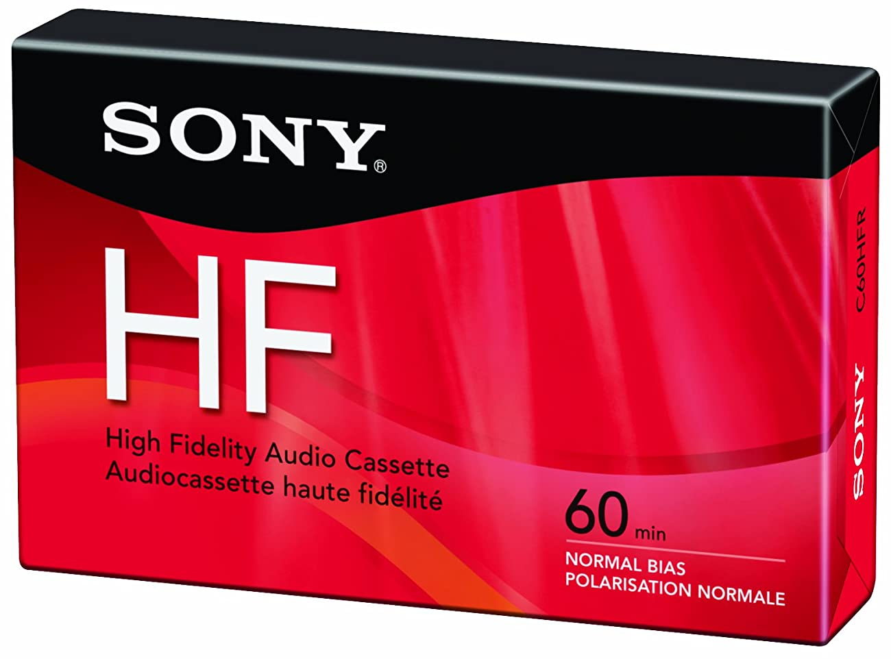 Sony C60HFR Single 60-minute Type 1 Audio Cassette Tape 0