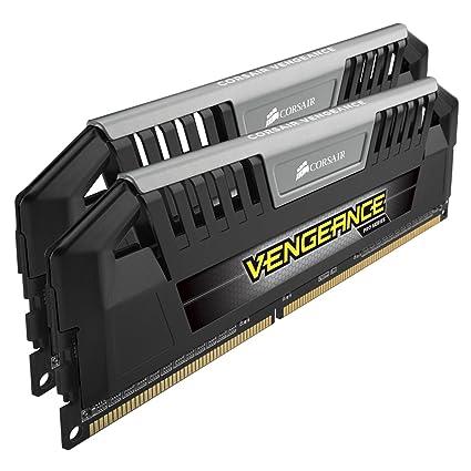 Corsair CMY8GX3M2A1866C9 Vengeance Pro Series 8GB (2x4GB) DDR3 1866Mhz CL9 Mémoire pour ordinateur de bureau performante avec profil XMP. Noir