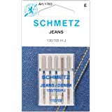 Jean & Denim Machine Needles-Size 18/110 5/Pkg (2 Pack) (Tamaño: 2 Pack)