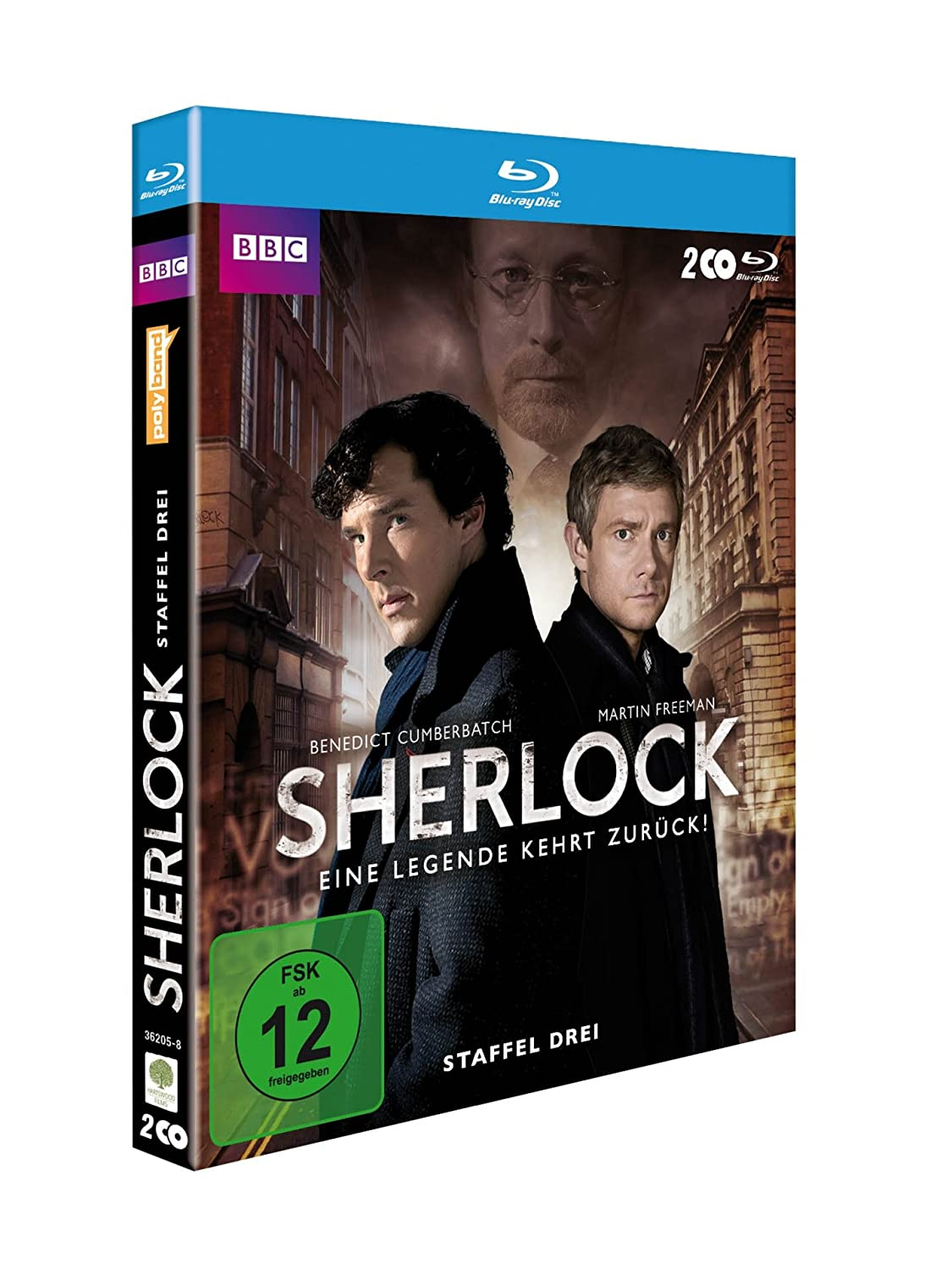 Sherlock Staffel 3 Blu-ray Box
