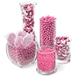 Pink Candy Kit - Party Candy Buffet Table (Color: Pink)