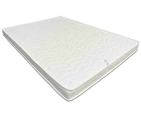 Baldiflex Materasso Francese Easy Latex Memory in Lattice + 2 cm Memory Foam 140 x 200 cm - Cotone Ortopedico
