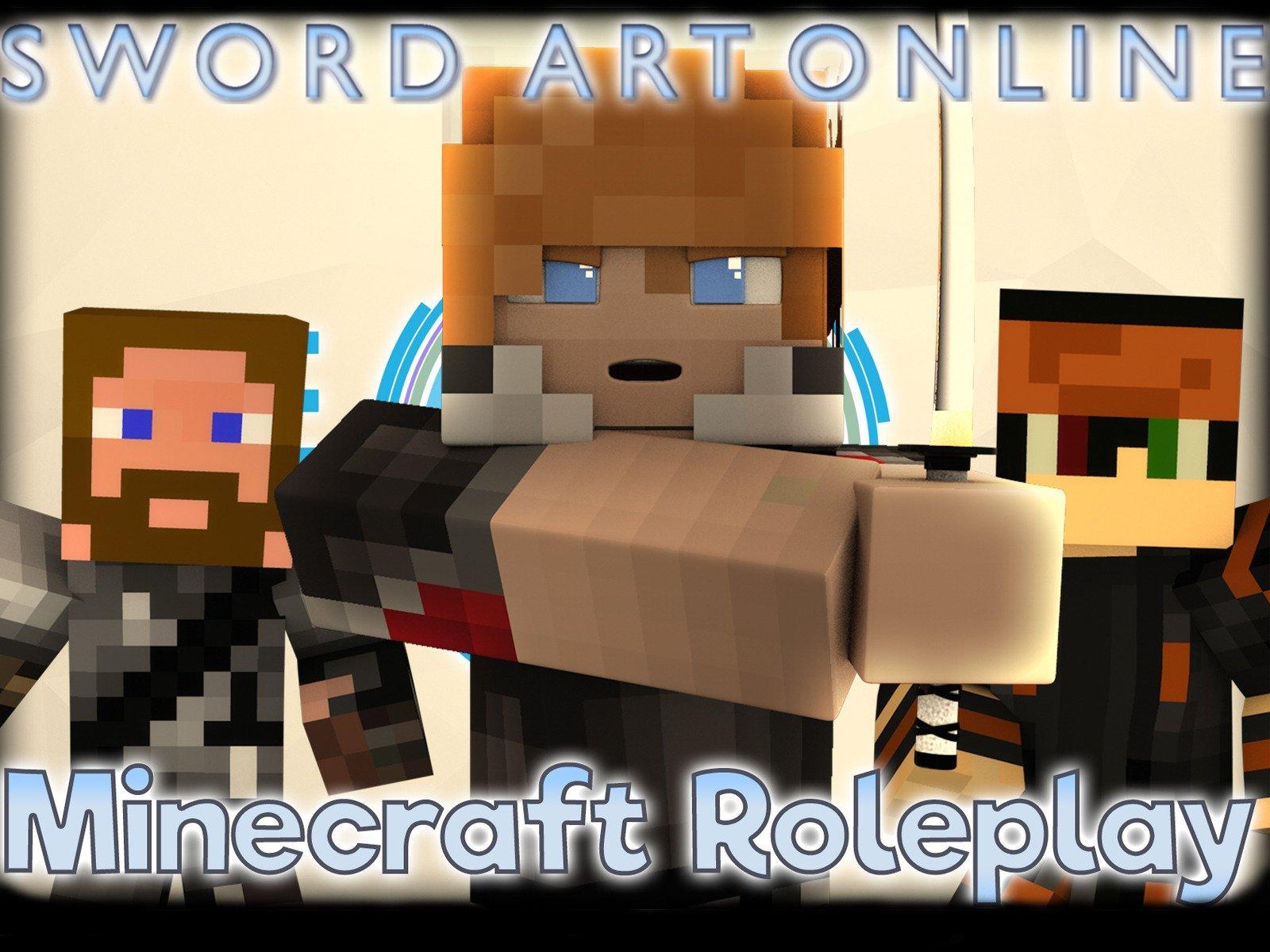 Clip: Sword Art Online (Minecraft Roleplay)