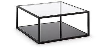 Mesa de centro con estructura de acero - Selección Cabana