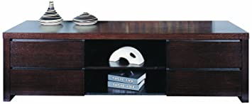 BH Design Milan TV Stand with 4-Drawer, Wenge
