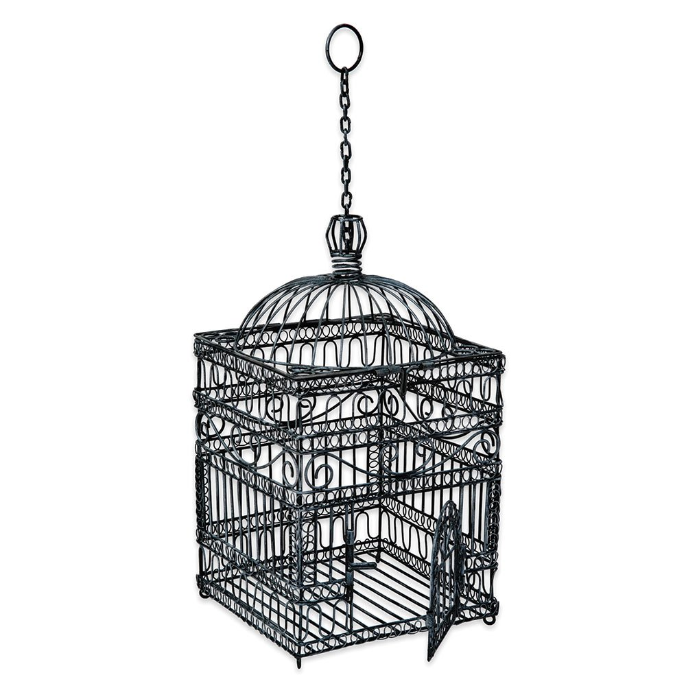 Achla Designs Victorian Decorative Hanging Bird Cage 0