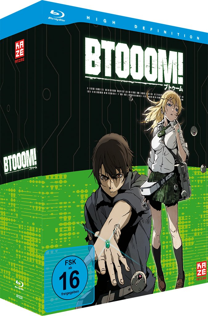 Btooom! - Volume 1, Blu-ray